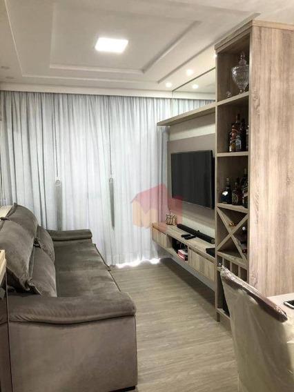 Excelente Apartamento Com 3 Dormitórios Sendo Um Suite - Ap0197
