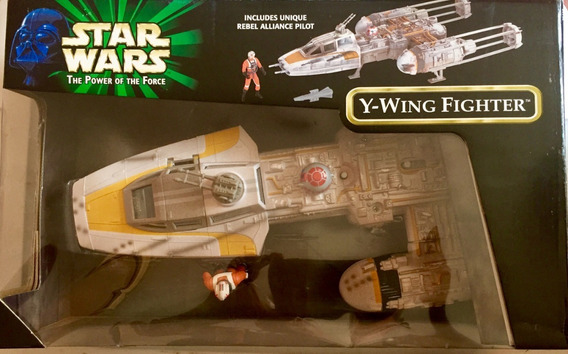 Nave O Vehculo Ywing Star Wars Power Of The Force Collection