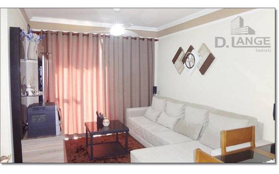 Apartamento Com 2 Dormitórios À Venda, 59 M² Por R$ 220.000 - Jardim Paulicéia - Campinas/sp - Ap15868