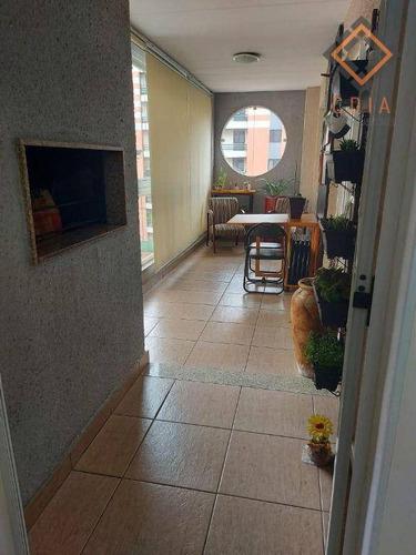 Imagem 1 de 30 de Apartamento Com 4 Dormitórios À Venda, 170 M² Por R$ 1.300.000,00 - Vila São Francisco - São Paulo/sp - Ap55067