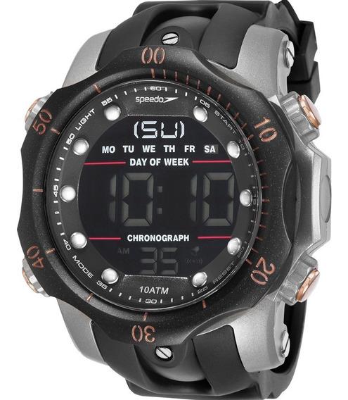 Relógio Speedo Masculino Preto Digital 11005g0evnp5