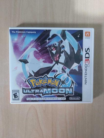 Pokémon Ultra Moon Nintendo 3ds Jogo Mídia Física Perfeito