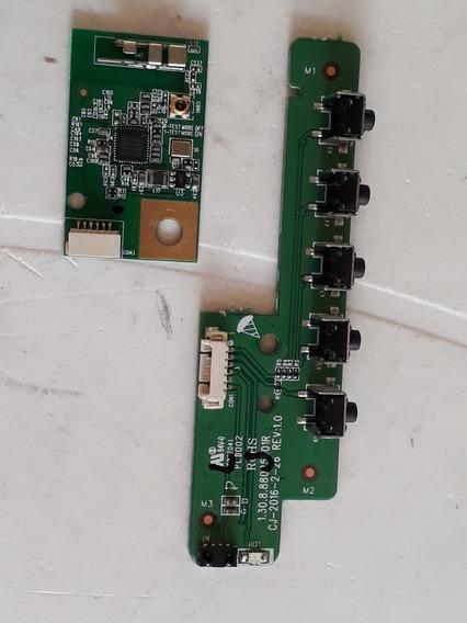Placa Teclado + Sensor E Módulo Wifi Tv Philco Ph39n91dsgwa