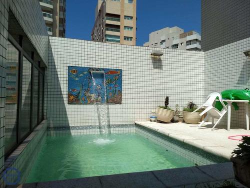 Cobertura Com 3 Dorms, Boqueirão, Santos - R$ 1.17 Mi, Cod: 10608 - V10608