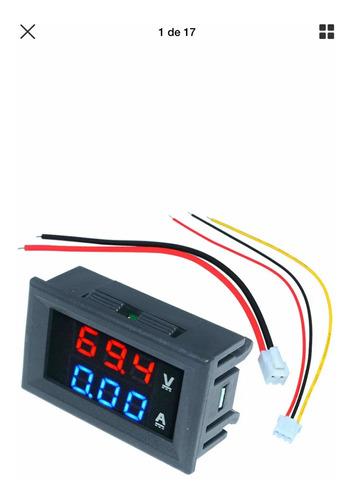 Voltmetro Amperímetro Dc 12v