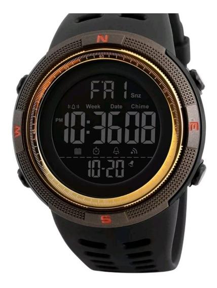 Relógio Masculino Digital Esporte Skmei Resistente À Agua