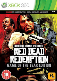 Red Dead Redemption Xbox 360 - Mídia Digital