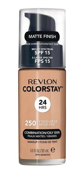 Base Longa Duração Revlon Colortsay 250 Fresh Beige