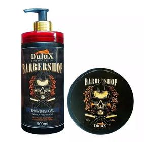 6 Shaving Gel De Barbear 500g + 6 Pomada Modeladora Dulux