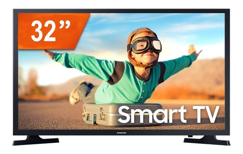 Imagem 1 de 4 de Smart Tv Led 32  Samsung Lh32betblggxzd Hd 2 Hdmi Usb Wifi