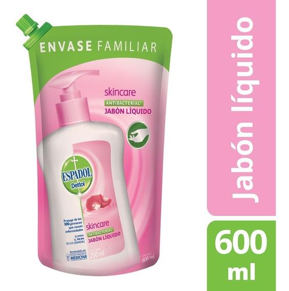 Espadol Jabon Liquido Skincare Repuesto X 600ml
