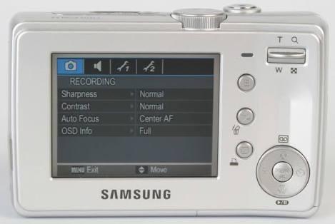 Câmera Samsung S 630 C/ Defeito No Bloco