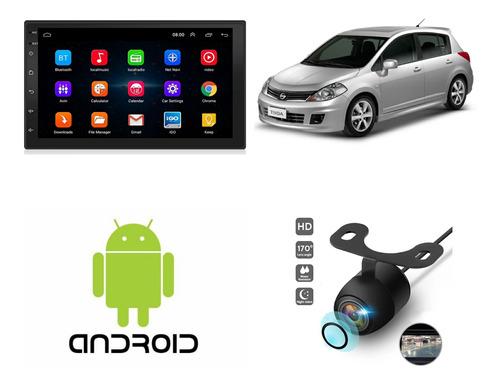 Imagen 1 de 5 de Radio Multimedia Android P/ Nissan Tiida + Instalación + Cám