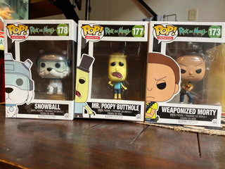 Funko Pop Rick And Morty Set X 3 173 177 178