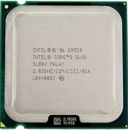Processador Intel Core2 Quad Q9550 Cache De 12 M, 2,83 Ghz