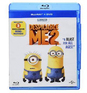 Mi Villano Favorito 2 Blu-ray Dvd Despicable Me 2