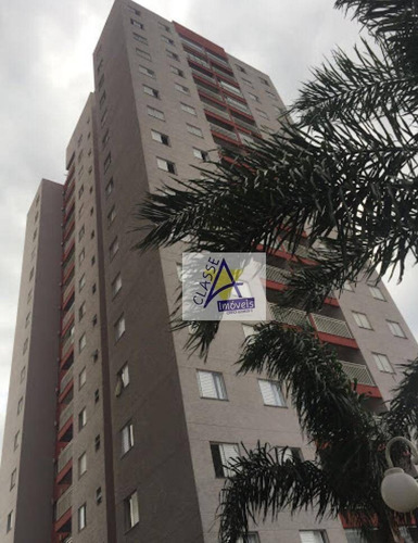 Apartamento À Venda, 58 M² Por R$ 298.000,00 - Vila Homero Thon - Santo André/sp - Ap0486