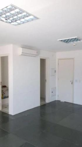 Sala Para Alugar, 40 M² Por R$ 1.100,00/mês - Brooklin - São Paulo/sp - Sa0316