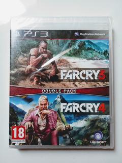 Farcry 3/farcry 4 Double Pack Ps3 Nuevo Y Sellado En Español