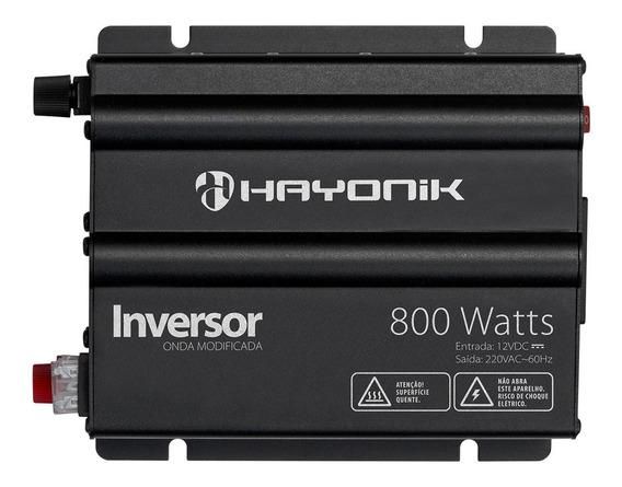 Inversor Onda Modificada 800w 12vdc/220v 60hz Hayonik