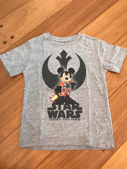 Remera Mickey Starwars