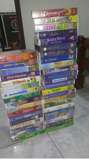 40 Disney Video Cassettes (vhs)