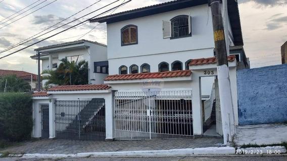 Sobrado Com 3 Dormitórios Para Alugar, 230 M² Por R$ 2.800/mês - Horto Florestal - São Paulo/sp - So0290