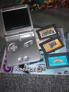 Game Boy Advance Ags 101 La Mas Buscada En Caja!+ 3 Juegos