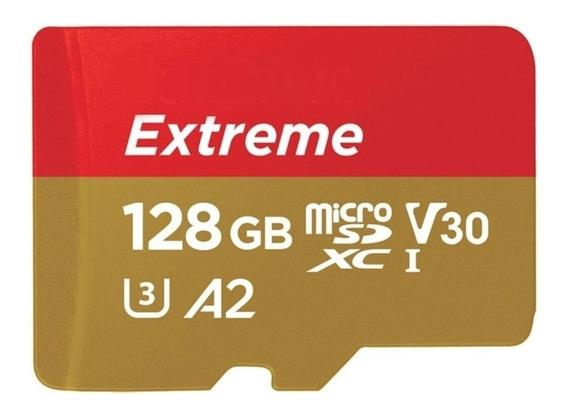 Cartão De Memória Sandisk Sdsqxa1-128g-an6ma Extreme Com Ada