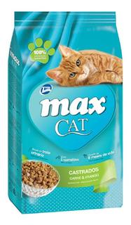Alimento Para Gato -max Cat Castrados