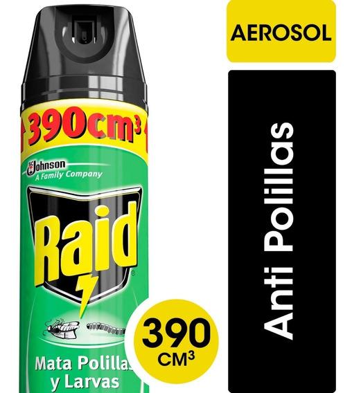 Raid Insecticida Mata Polillas Y Larvas - 3 Unidades