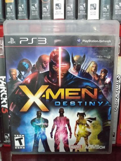X-men Destiny Original Ps3 Completo | Parcelamento Sem Juros