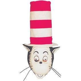 ccfd9b3c Sombrero Del Gato Cat In The Hat Con Máscara Para Adulto-