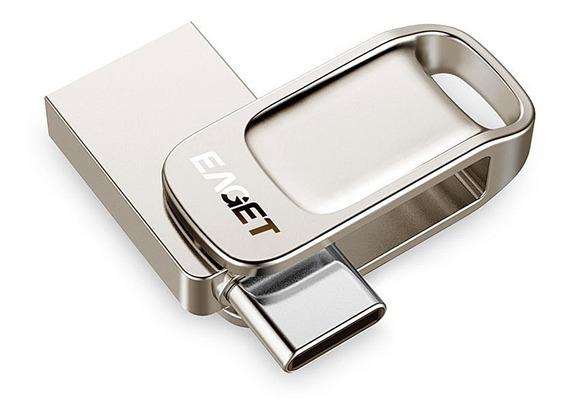 Pen Drive 64gb Eaget Cu31 Dual Usb 3.0 Tipo C Metal