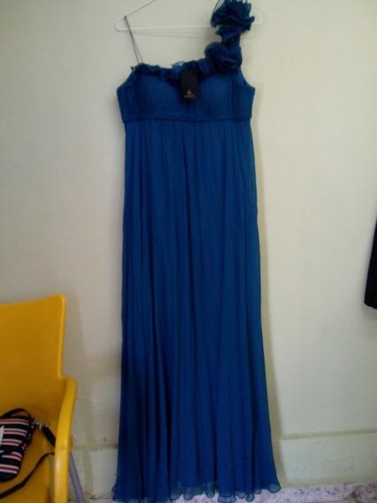 Elegante Vestido De Dama Talla 10 O M Nuevo Con Etiquetas