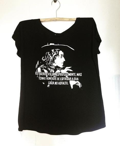 Camiseta Frase Esfregar Cara No Asfalto