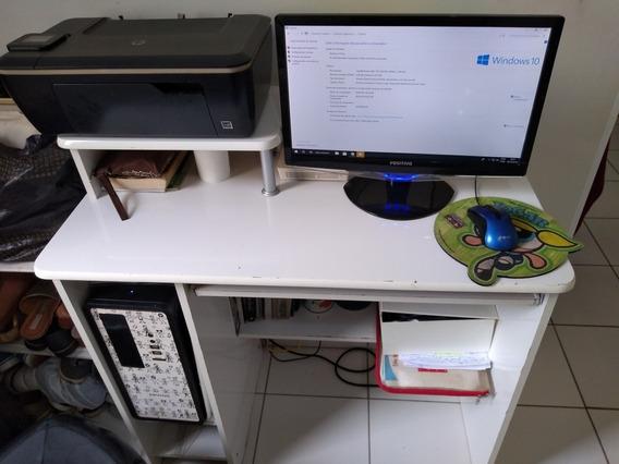 Computador Positivo 4gb + Mesa Para Pc