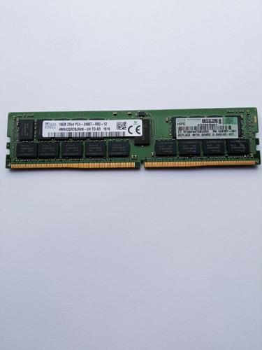 Imagem 1 de 1 de Memória 16 Gb Ddr4 Ecc 2400 Rdimm P/servidor Hp Original