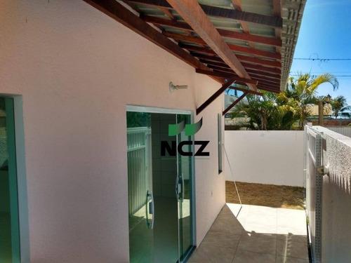 Casa Com 3 Dormitórios À Venda, 90 M² Por R$ 240.000,00 - Jauá - Camaçari/ba - Ca3144
