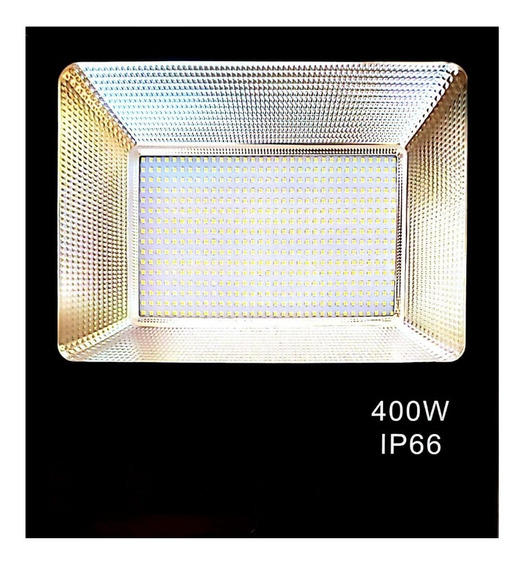 Reflector Led 400 Watts Ultradelgado Ip66 Luminosidad 400w