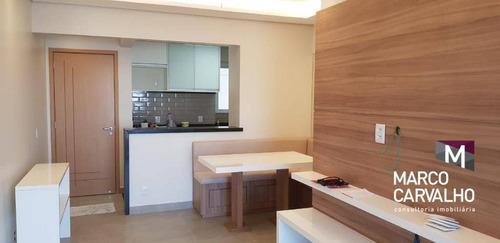Apartamento Com 3 Dormitórios À Venda, 86 M² Por R$ 585.000,00 - Cascata - Marília/sp - Ap0137