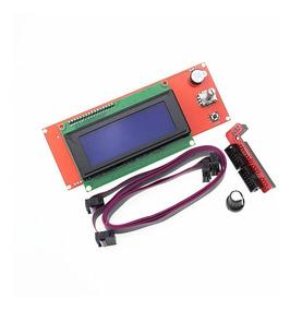 Display Lcd 2004 Impressora 3d Reprap Ramp Com Leitor Sd