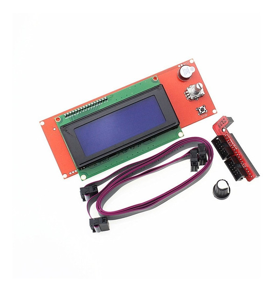 Display Lcd 2004 Impressora 3d Reprap Ramp Com Leitor Sd