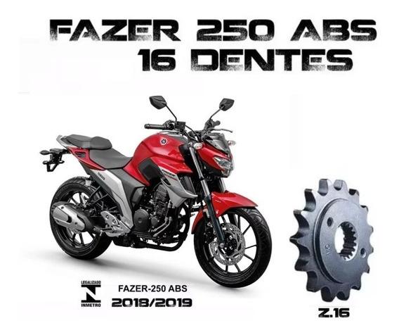 Pinhão Vaz 16 Dentes Yamaha Fazer 250 Abs 2018/19/20