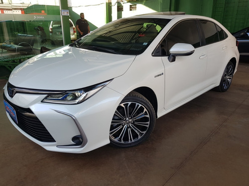 Corolla Altis 1.8 Hybrido/elétrico Automatico 2020/20 Branco