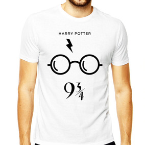 Camiseta Harry Potter Masculina Magia Óculos Harry Exclusivo
