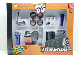 Diorama Taller Tire Shop Llantera Escala 1:24