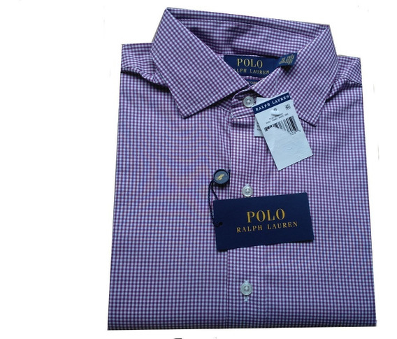 Camisas Original Polo Ralph Talla M 15,5 Slim Scalia