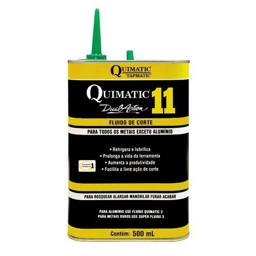 Quimatic 11 - Fluído Sintético Corte De Ferro  - 500ml
