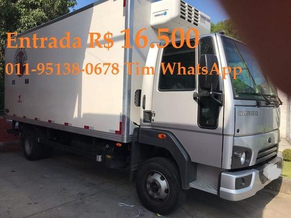 Ford Cargo 816 Carroceria Baú Refrigerado 0km